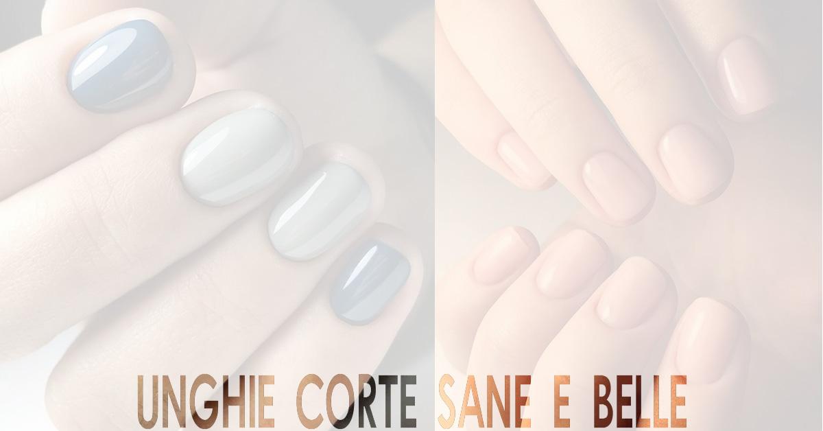 unghie corte curate